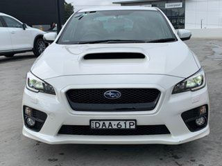 2015 Subaru WRX V1 MY16 Lineartronic AWD Crystal White 8 Speed Constant Variable Sedan
