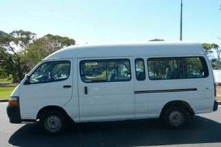 2000 Toyota HiAce LH125R Commuter Super LWB White 5 Speed Manual Bus