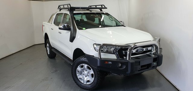 Used Ford Ranger PX MkII XLT Double Cab, 2015 Ford Ranger PX MkII XLT Double Cab White 6 Speed Manual Utility