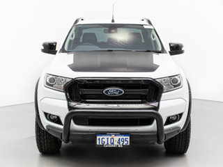 2017 Ford Ranger PX MkII MY18 FX4 Special Edition White 6 Speed Automatic Double Cab Pick Up.