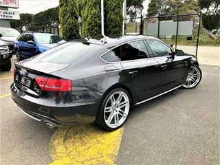 2011 Audi A5 8T MY11 Sportback S Tronic Quattro Grey 7 Speed Sports Automatic Dual Clutch Hatchback.