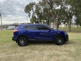 2016 Nissan Qashqai J11 ST Blue 1 Speed Constant Variable Wagon