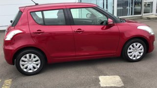 2011 Suzuki Swift FZ GL Red 5 Speed Manual Hatchback.