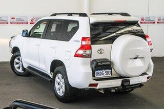 2015 Toyota Landcruiser Prado KDJ150R MY14 GXL (4x4) Glacier White 5 Speed Sequential Auto Wagon.