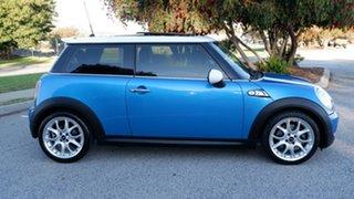 2008 Mini Hatch R56 Cooper S Chilli Blue 6 Speed Manual Hatchback.