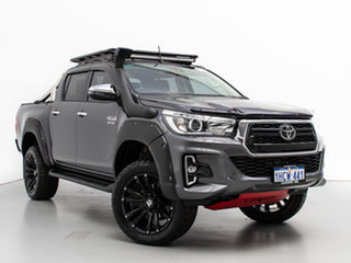 2019 Toyota Hilux GUN126R MY19 SR5 (4x4) Grey 6 Speed Automatic Double Cab Pick Up.