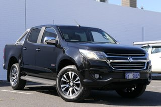 2016 Holden Colorado RG MY17 LTZ Pickup Crew Cab Black 6 Speed Sports Automatic Utility.