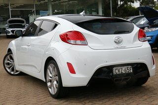 2014 Hyundai Veloster FS3 + White 6 Speed Auto Dual Clutch Coupe.