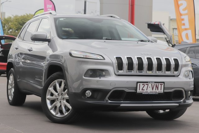 Used Jeep Cherokee KL Limited, 2014 Jeep Cherokee KL Limited Silver 9 Speed Sports Automatic Wagon