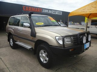 2005 Toyota Landcruiser HDJ100R GXL Gold 5 Speed Automatic Wagon