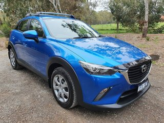 2015 Mazda CX-3 DK Neo Blue Manual Wagon.