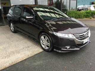 2012 Honda Odyssey RB MY12 Luxury Maroon 5 Speed Automatic Wagon.