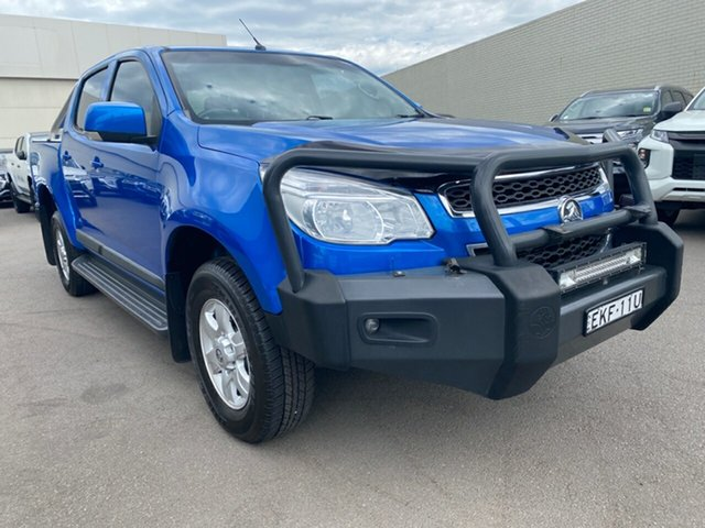 Used Holden Colorado RG MY16 LS-X Crew Cab Cardiff, 2016 Holden Colorado RG MY16 LS-X Crew Cab Blue 6 Speed Sports Automatic Utility