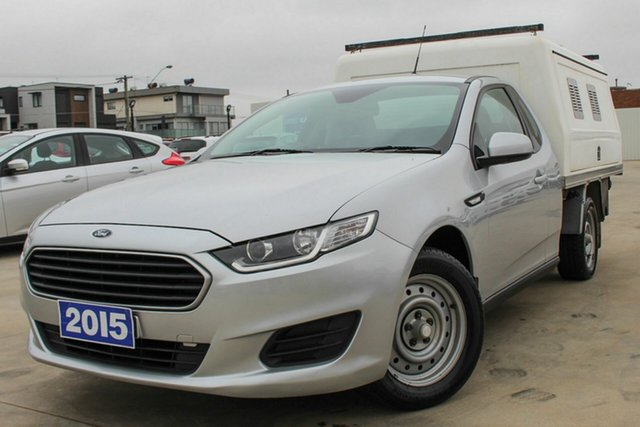 Used Ford Falcon FG X Super Cab Coburg North, 2015 Ford Falcon FG X Super Cab Silver 6 Speed Sports Automatic Cab Chassis