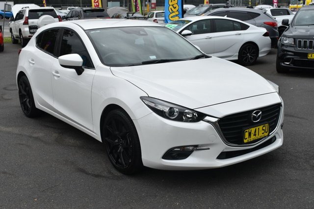 Used Mazda 3 BN5476 Maxx SKYACTIV-MT, 2016 Mazda 3 BN5476 Maxx SKYACTIV-MT White 6 Speed Manual Hatchback
