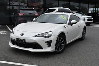 2017 Toyota 86 ZN6 GT White 6 Speed Manual Coupe.