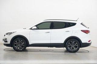 2018 Hyundai Santa Fe DM5 MY18 Active X 2WD White 6 Speed Sports Automatic Wagon.