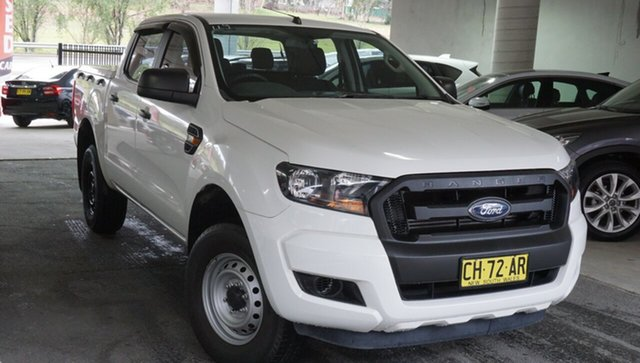 Used Ford Ranger PX MkII XL, 2015 Ford Ranger PX MkII XL White 6 Speed Sports Automatic Cab Chassis