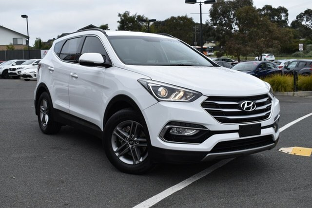 Used Hyundai Santa Fe DM3 MY17 Active, 2017 Hyundai Santa Fe DM3 MY17 Active White 6 Speed Sports Automatic Wagon