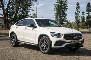 2020 Mercedes-Benz GLC-Class C253 800+050MY GLC300 Coupe 9G-Tronic 4MATIC Diamond White 9 Speed.