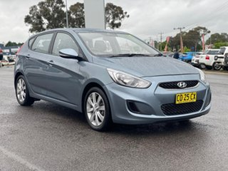 2017 Hyundai Accent Sport Grey Sports Automatic Hatchback.