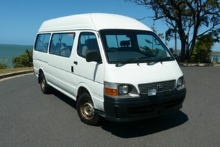2000 Toyota HiAce LH125R Commuter Super LWB White 5 Speed Manual Bus.