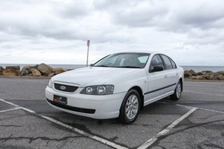 2004 Ford Falcon BA Classic XT White 4 Speed Sports Automatic Sedan