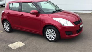2011 Suzuki Swift FZ GL Red 5 Speed Manual Hatchback