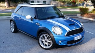 2008 Mini Hatch R56 Cooper S Chilli Blue 6 Speed Manual Hatchback.