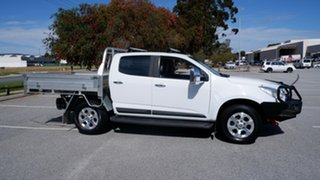 2015 Holden Colorado RG MY16 LTZ Crew Cab White 6 Speed Sports Automatic Utility.