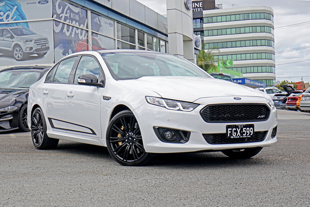 Used Ford Falcon FG X XR8 Sprint Springwood, 2016 Ford Falcon FG X XR8 Sprint White 6 Speed Sports Automatic Sedan