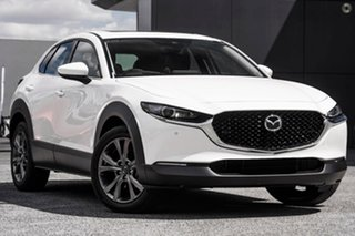 2020 Mazda CX-30 DM4WLA X20 SKYACTIV-Drive i-ACTIV AWD Astina White 6 Speed Sports Automatic Wagon.