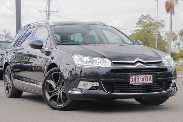 Used Citroen C5 X7 MY14 Exclusive Tourer HDi, 2015 Citroen C5 X7 MY14 Exclusive Tourer HDi Gris-Haria Metallic/ 6 Speed Sports Automatic Wagon