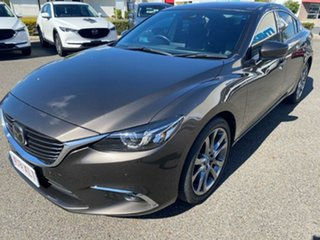 2017 Mazda 6 GL1031 Atenza SKYACTIV-Drive Brown 6 Speed Sports Automatic Sedan