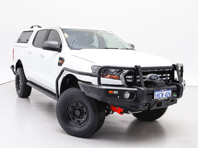 Used Ford Ranger PX MkIII MY19 XLS 3.2 (4x4), 2018 Ford Ranger PX MkIII MY19 XLS 3.2 (4x4) White 6 Speed Automatic Double Cab Pick Up
