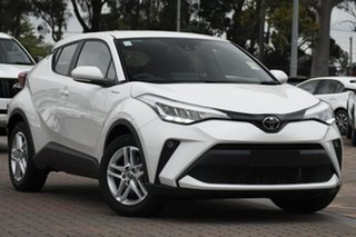 2020 Toyota C-HR NGX10R S-CVT 2WD White 7 Speed Constant Variable SUV.