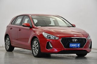 2019 Hyundai i30 PD2 MY19 Active Red 6 Speed Sports Automatic Hatchback