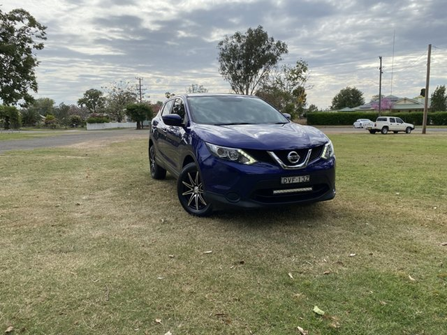Used Nissan Qashqai J11 ST Moree, 2016 Nissan Qashqai J11 ST Blue 1 Speed Constant Variable Wagon