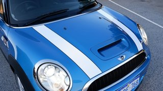 2008 Mini Hatch R56 Cooper S Chilli Blue 6 Speed Manual Hatchback