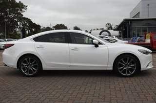 2014 Mazda 6 GJ1021 Atenza SKYACTIV-Drive White 6 Speed Sports Automatic Sedan