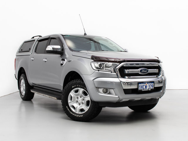 Used Ford Ranger PX MkII XLT 3.2 (4x4), 2016 Ford Ranger PX MkII XLT 3.2 (4x4) Grey 6 Speed Automatic Double Cab Pick Up