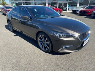 2017 Mazda 6 GL1031 Atenza SKYACTIV-Drive Brown 6 Speed Sports Automatic Sedan.