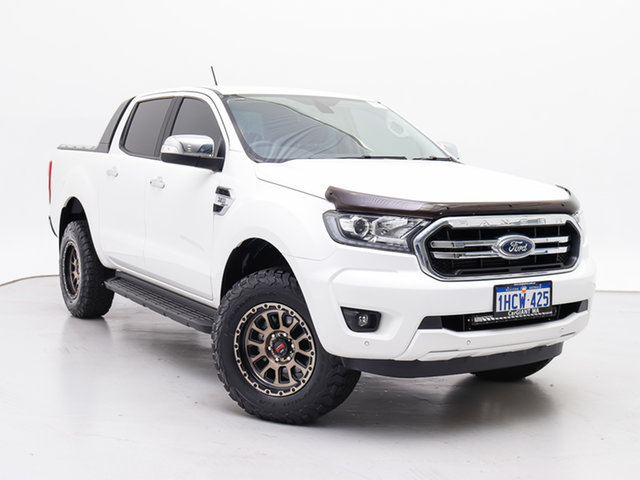 Used Ford Ranger PX MkIII MY19.75 XLT 3.2 (4x4), 2019 Ford Ranger PX MkIII MY19.75 XLT 3.2 (4x4) White 6 Speed Manual Double Cab Pick Up