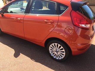 2013 Ford Fiesta WT CL Orange 6 Speed Automatic Hatchback