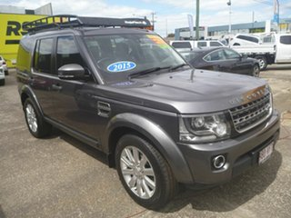 2014 Land Rover Discovery Series 4 L319 MY15 TDV6 Grey 8 Speed Sports Automatic Wagon.
