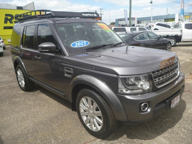 Used Land Rover Discovery Series 4 L319 MY15 TDV6, 2014 Land Rover Discovery Series 4 L319 MY15 TDV6 Grey 8 Speed Sports Automatic Wagon