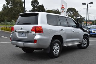 2012 Toyota Landcruiser VDJ200R MY12 GXL Silver 6 Speed Sports Automatic Wagon