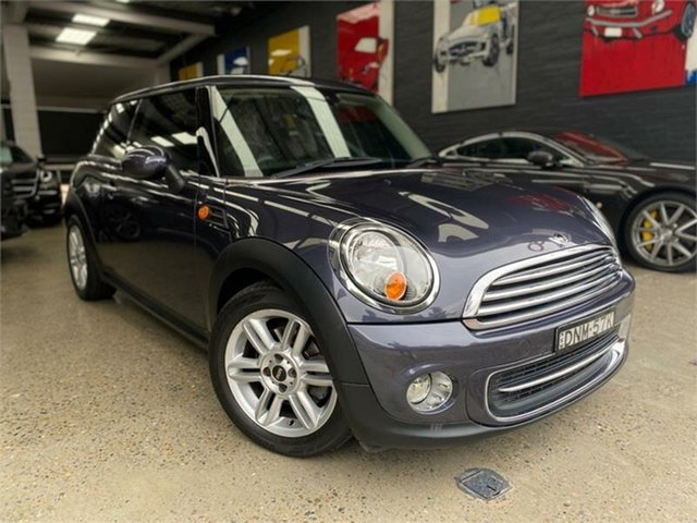 Used Mini Hatch R56 LCI Cooper, 2012 Mini Hatch R56 LCI Cooper Grey Sports Automatic Hatchback