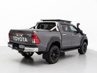 2019 Toyota Hilux GUN126R MY19 SR5 (4x4) Grey 6 Speed Automatic Double Cab Pick Up