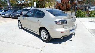 2007 Mazda 3 BK10F2 MZR-CD Gold 6 Speed Manual Sedan